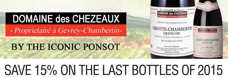 Domaine des Chezeaux 2015 Last Header