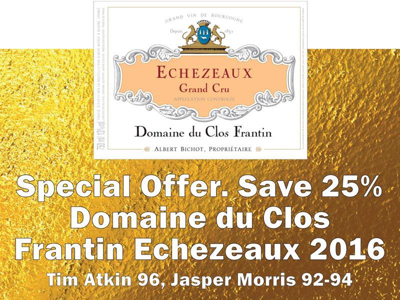 Frantin 2016 Echezeaux Header