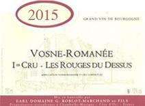 Roblot-Marchand Vosne Rouges Label