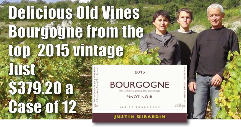 Girardin Bourgogne 2015 Case