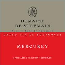 Suremain Mercurey Label