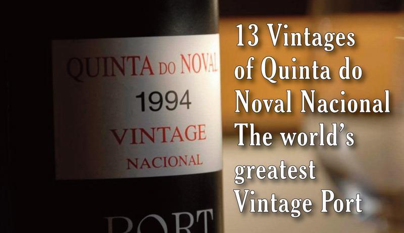 Noval Nacional 13 Vintages Header