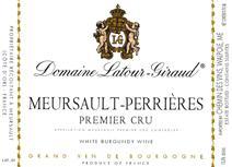 Latour-Giraud Perrieres Label