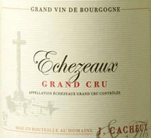 Cacheux Echezeaux label