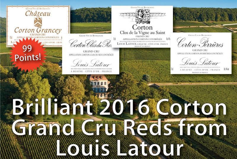 Louis Latour Corton 2016 Header