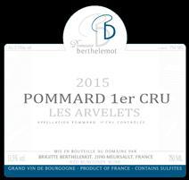 Berthelemot Arvelets Label