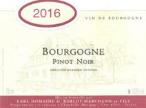 Roblot-Marchand Bourgogne 2016 Label
