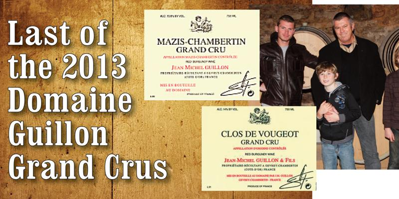 Guillon 2013 Grand Crus
