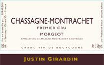 Girardin Justin Morgeots label NV