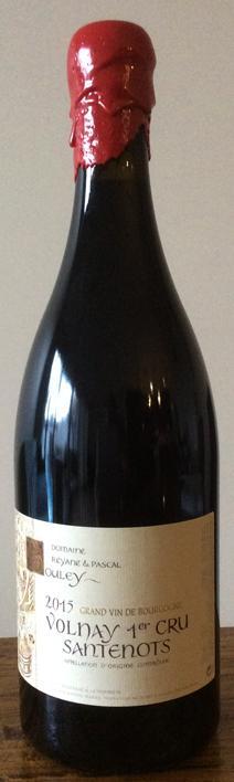 Bouley Santenots Bottle