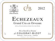 Coudray-Bizot Echezeaux label