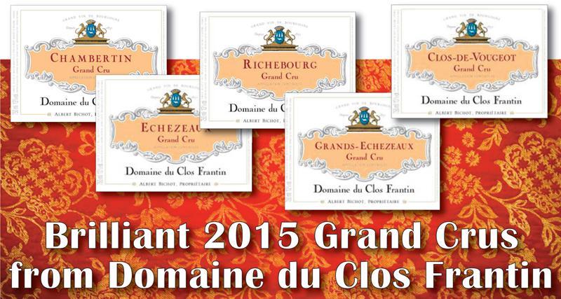 Frantin 2015 Grand Crus Header