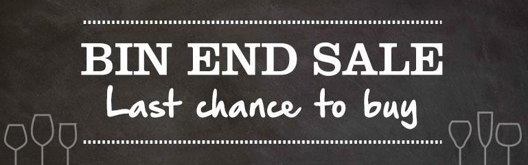 Bin End Sale
