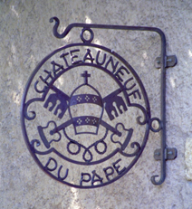 Chateauneuf Sign