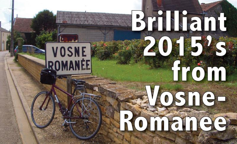 Brilliant 2015 Vosne-Romanee Header