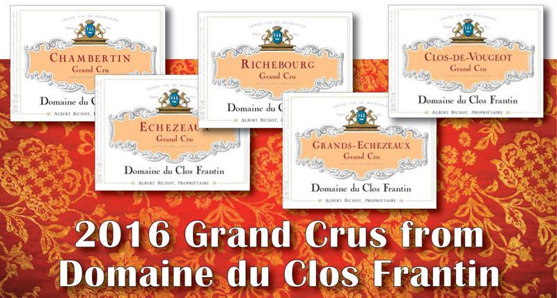 Frantin 2016 Grand Crus header