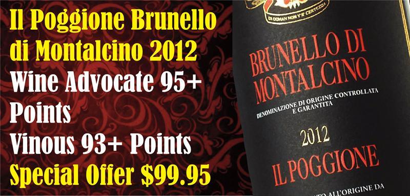 Poggione Brunello 2012 Header