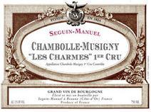 Seguin-Manuel Chambolle Charmes Label