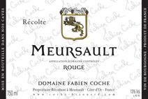 Coche Meursault Rouge label 2