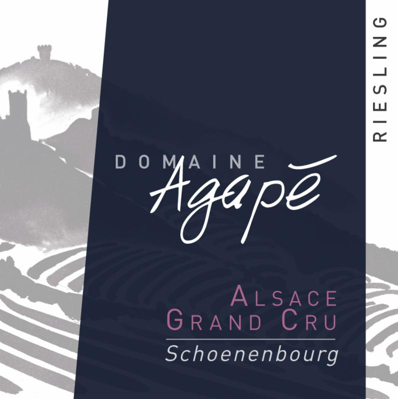 Agape Riesling Schoenenbourg Label