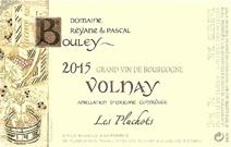 Bouley Volnay Pluchots 2015 Label