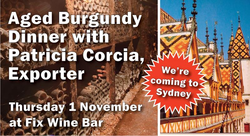 Burgundy Dinner Corcia Sydney header