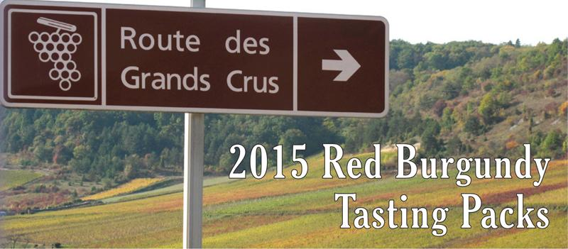 2015 Red Burgundy Tasting Packs