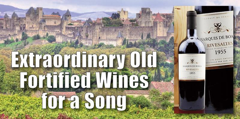 Extraordinary Old Fortified Wine Header 2