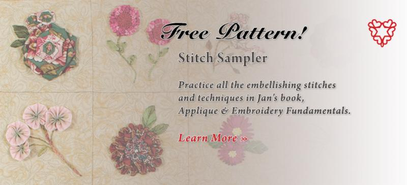 Free Pattern-Stitch Sampler