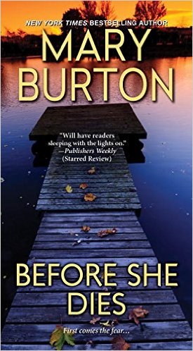 Cover of Mary Burton_s BEFORE SHE DIES