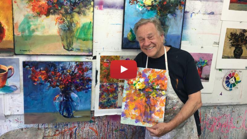 Splashing Abstract Color