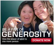 Be a fan of generosity