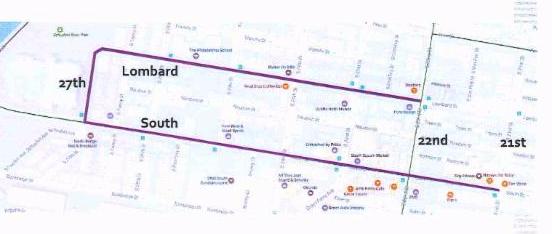 Proposed Bike Barrier Lanes