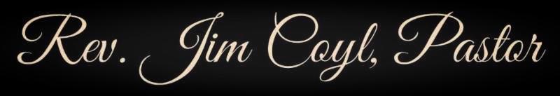 pastor name lettering