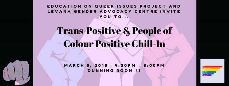 poster for trans-positive POC positive chill-in