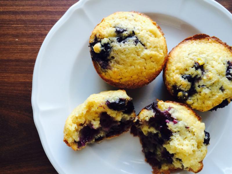 Berry & Corn Muffins