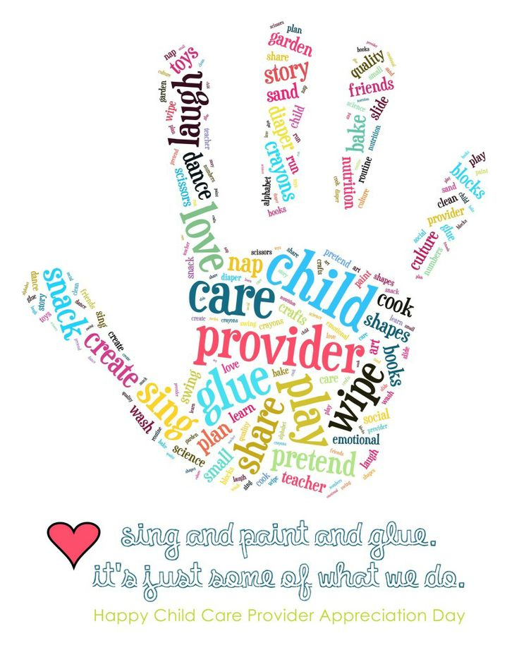 Childcare Quotes Prepossessing Come Celebrate Provider Appreciate Day