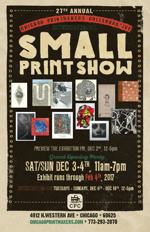 small prints 2016 poster
