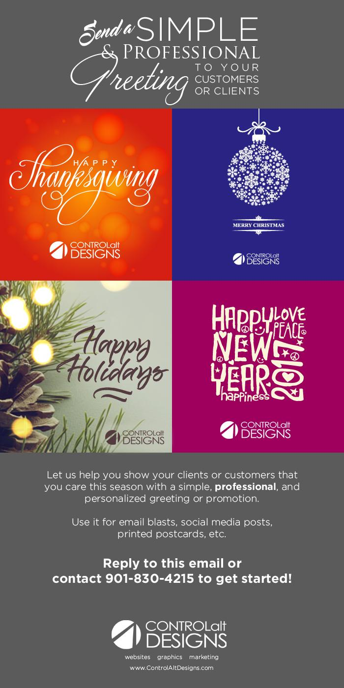 Website Trends Send A Custom Holiday Greeting To Your Clients Or