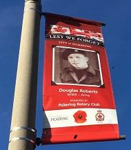 Honour our Veterans banner