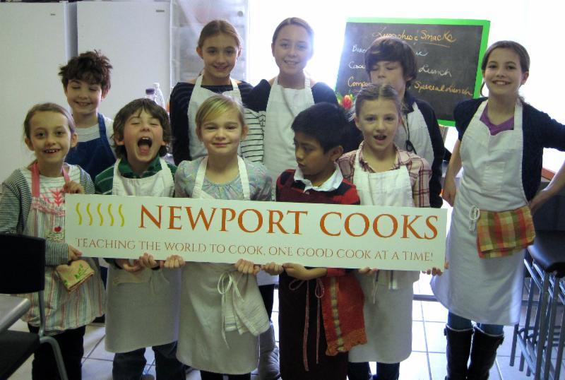 Children at Newport Cooks