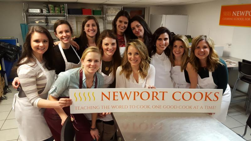 Bachelorette Cooking Class Party