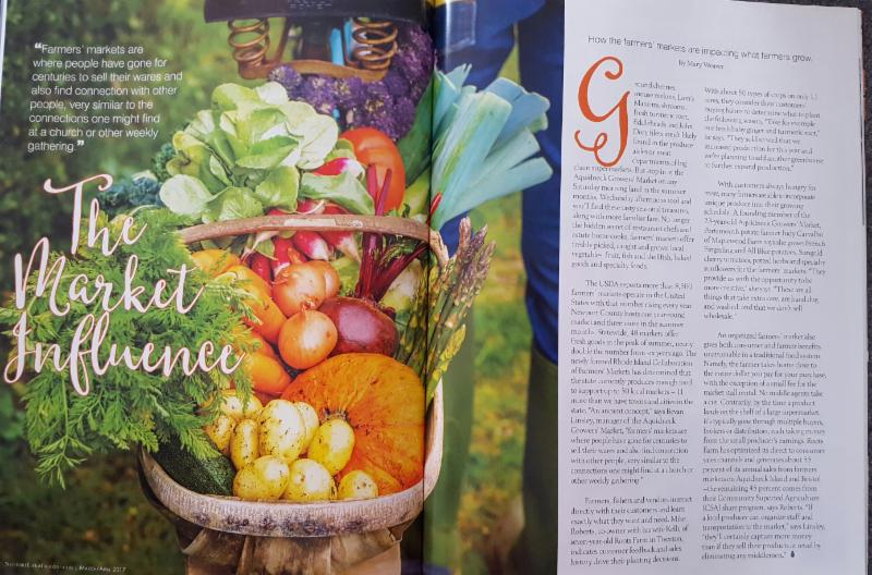 March 2017 Newport Life Farmers Market Article