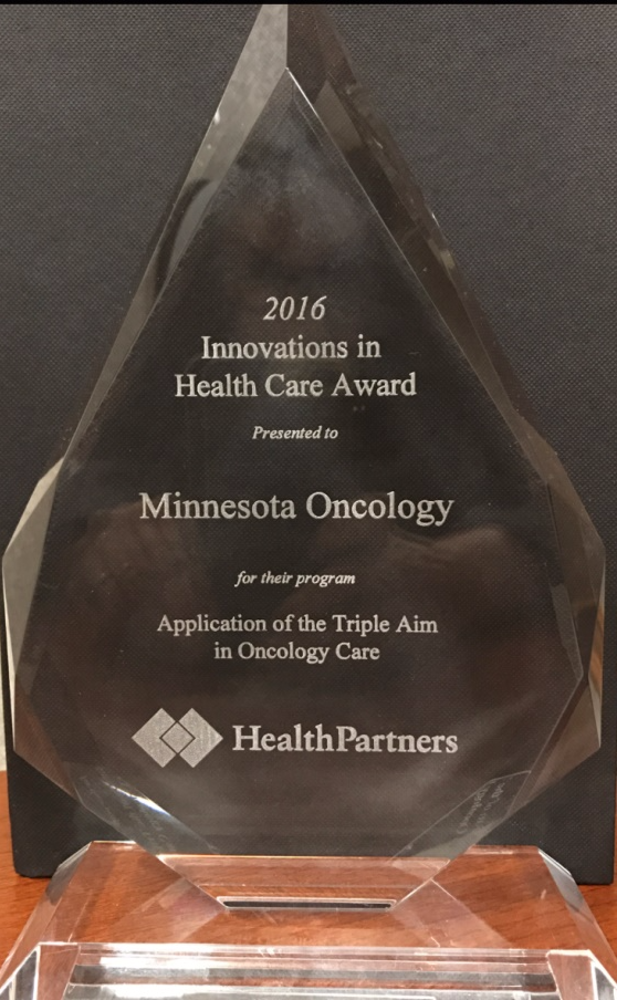 Innovations in Health Care Award