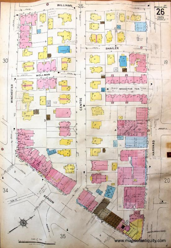 Coolidge Corner Ward Map