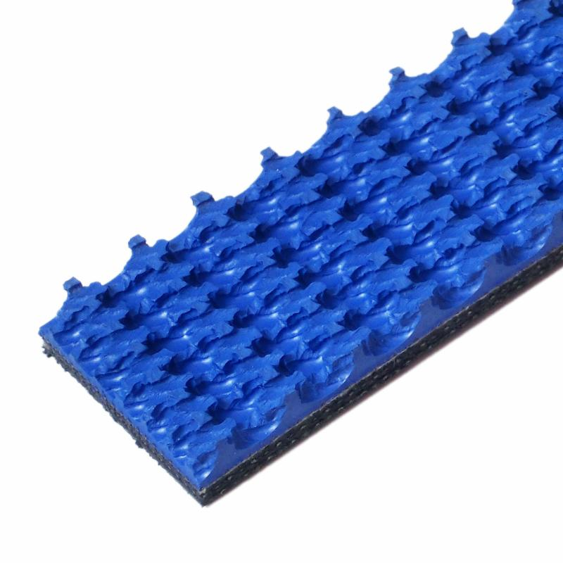 Blue Nitrile Roughtop Tread