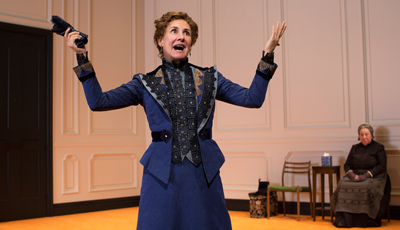 Tony Award winner Laurie Metcalf as Nora in A Doll's House, Part 2