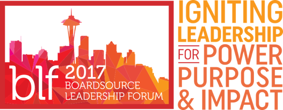 BoardSource Leadership Forum 2017