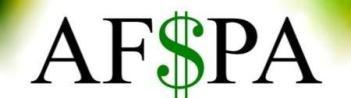 ALTERNATIVE FINANCIAL SERVICE PROVIDERS ASSOCIATION
