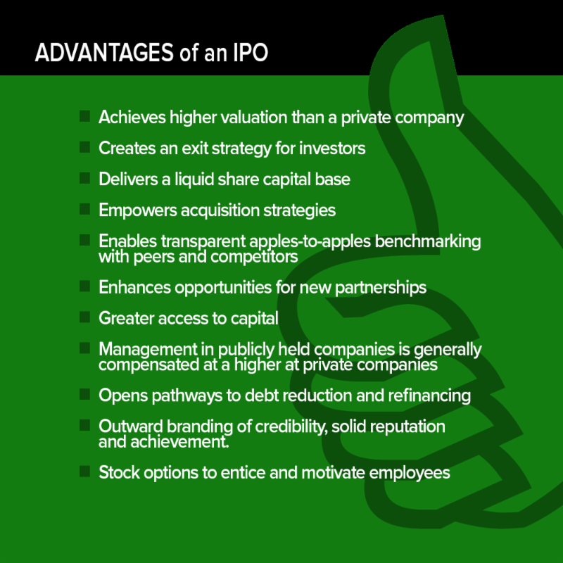 Is an IPO right for your company? - edgaragents